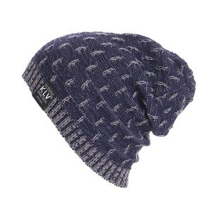 Other - Blue Soft Knitted Lightweight Wool Slouchy Beanie